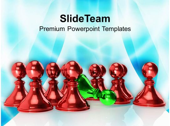 Illustration Of Chess Game Powerpoint Templates Ppt Backgrounds For
