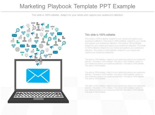 innovative marketing playbook template ppt example. Black Bedroom Furniture Sets. Home Design Ideas
