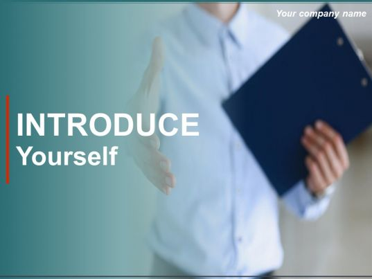 Introduce yourself powerpoint presentation slides for Template for introducing yourself