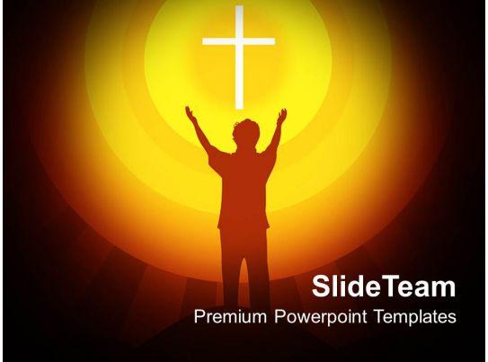 jesus christ bible powerpoint templates spirituality