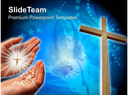 jesus christ cross powerpoint templates christian image