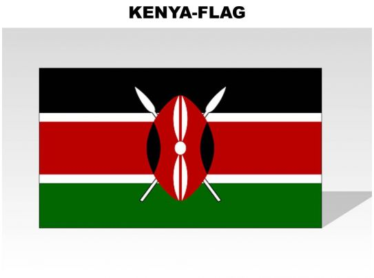Kenya Country Powerpoint Flags Graphics Presentation Background