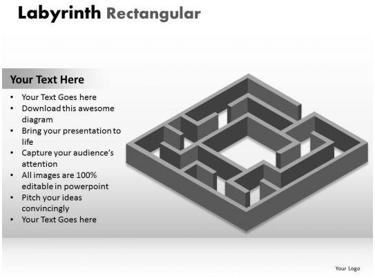 Labyrinth Rectangular 17