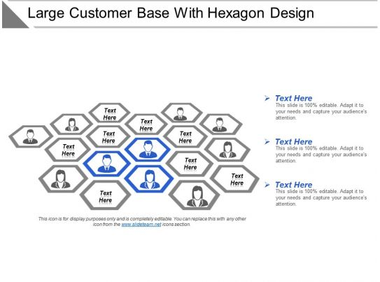 37978029 style cluster hexagonal 3 piece powerpoint