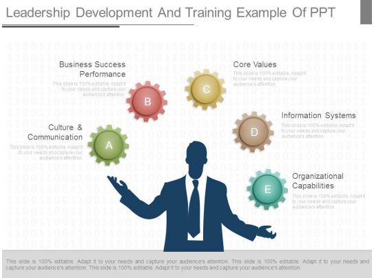 Leadership Development And Training Example Of Ppt
