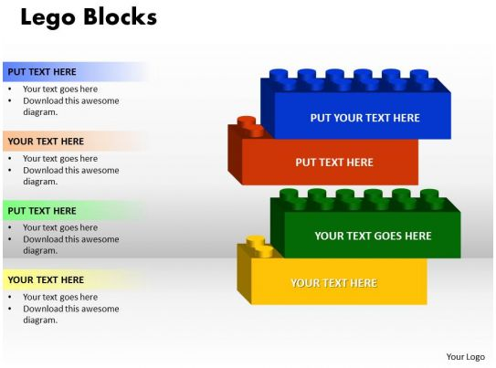 23798574 Style Variety 1 Lego 6 Piece Powerpoint
