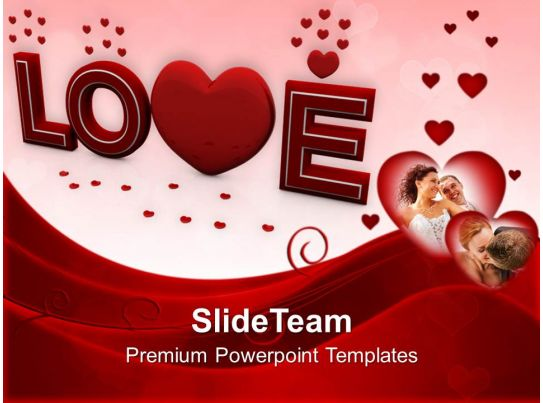 Love Wedding Occassion Powerpoint Templates Ppt Themes And Graphics