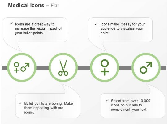 Male Female Scissor Symbols Ppt Icons Graphics Powerpoint