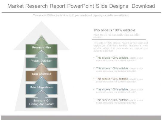 market research report powerpoint slide designs download. Black Bedroom Furniture Sets. Home Design Ideas