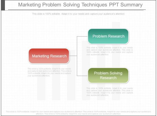 methods of problem solving ppt