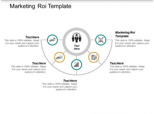 marketing roi template ppt powerpoint presentation inspiration example introduction cpb