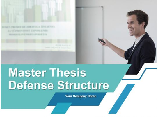 master thesis defense structure powerpoint presentation