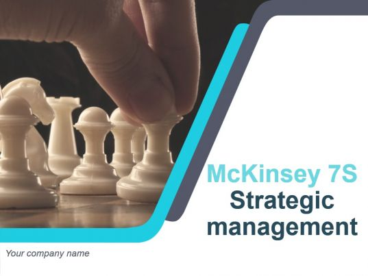 mckinsey 7s strategic management powerpoint presentation
