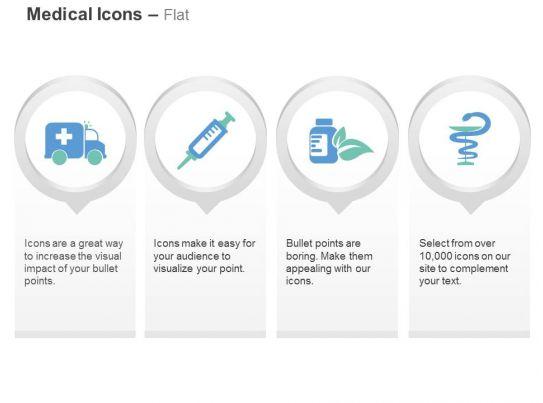 Medical Van Syringe Medicine Medical Symbol Ppt Icons Graphics