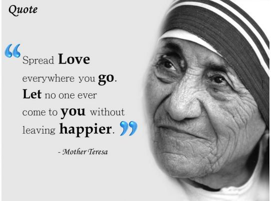 Original Images Of Mother Teresa With Quotes