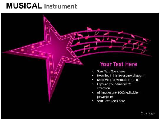 Musical Instrument Powerpoint Presentation Slides Db