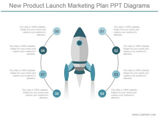 new product launch marketing plan ppt diagrams