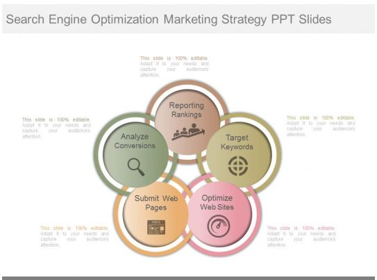 new search engine optimization marketing strategy ppt slides powerpoint shapes powerpoint. Black Bedroom Furniture Sets. Home Design Ideas