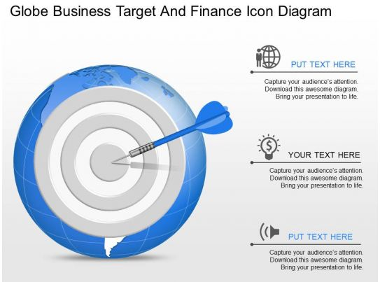 bullseye chart template - 89387262 style circular bulls eye 3 piece powerpoint