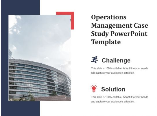 Operations Management Case Study Powerpoint Template Powerpoint