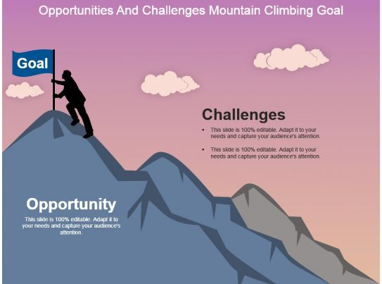 Opportunities And Challenges Mountain Climbing Goal ...