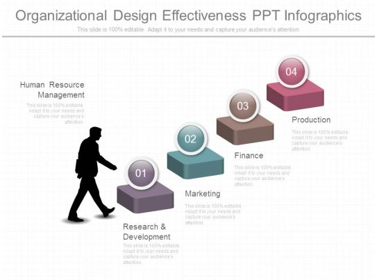 65573826 style concepts 1 growth 4 piece powerpoint ... organizational effectiveness diagrams #11