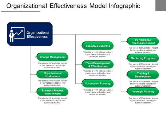 organizational effectiveness model infographic ppt example
