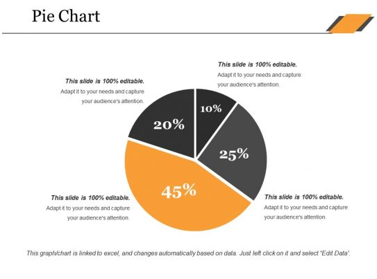 Pie Chart Ppt Microsoft Powerpoint Slide Clipart Example Of