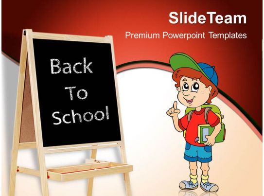 Powerpoint Training Templates Back To School Education Success Ppt