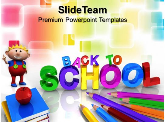 Powerpoint Training Templates Back To School Future Strategy Ppt