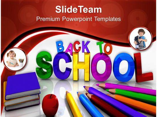 powerpoint training templates to school education future