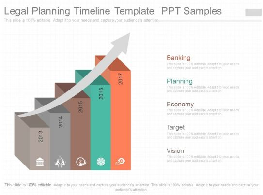 legal chronology template - ppt legal planning timeline template ppt samples