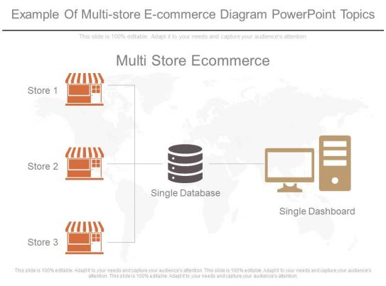 ppts example of multi store e commerce diagram powerpoint topics. Black Bedroom Furniture Sets. Home Design Ideas