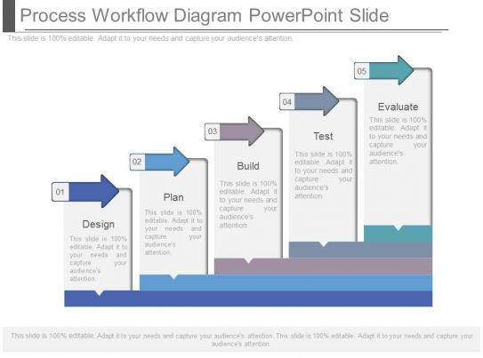 ppts process workflow diagram powerpoint slide. Black Bedroom Furniture Sets. Home Design Ideas