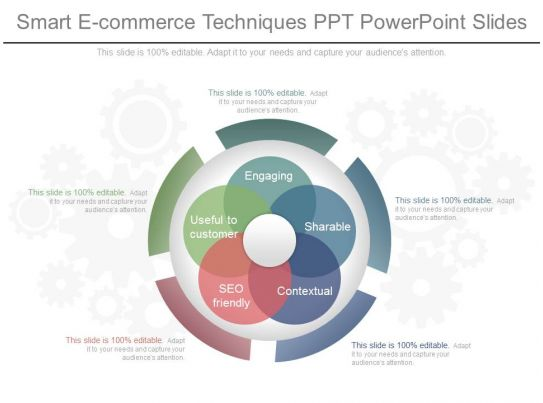 ppts smart e commerce techniques ppt powerpoint slides