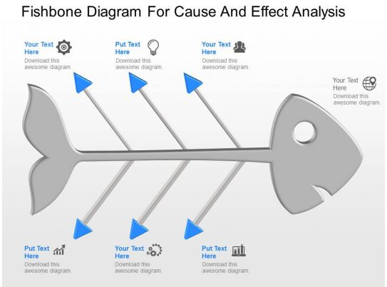 pptx fishbone diagram for cause and effect analysis powerpoint template. Black Bedroom Furniture Sets. Home Design Ideas