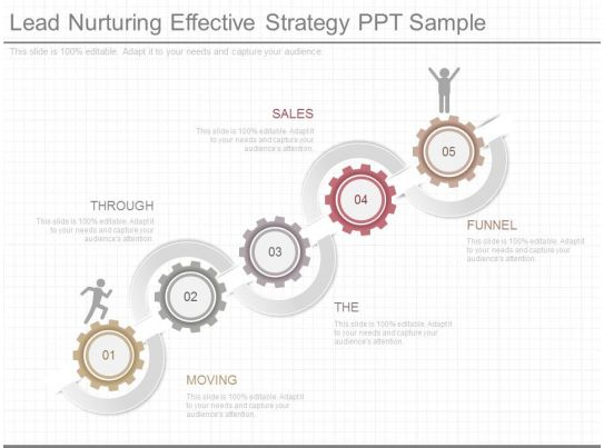 pptx lead nurturing effective strategy ppt sample