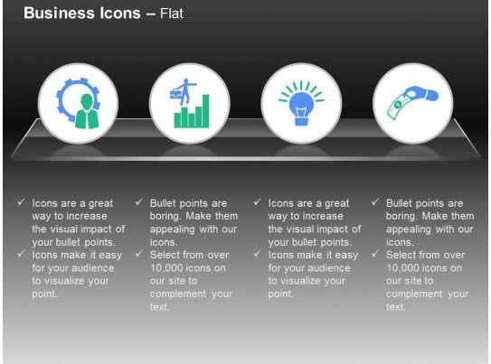 Process Control Bar Graph Idea Generation Money Exchange Ppt Icons