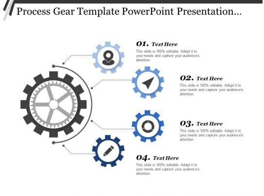 Process Gear Template Powerpoint Presentation Templates ...