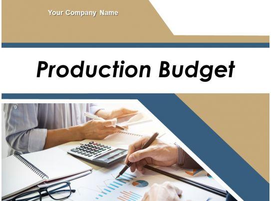production budget powerpoint presentation slides