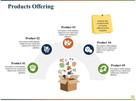 Products Offering Ppt Gallery Infographic Template Powerpoint