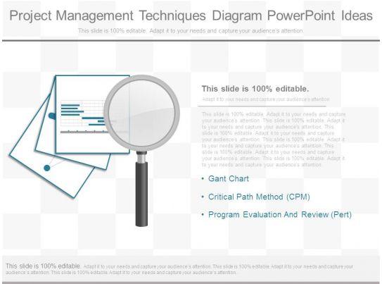 project management techniques diagram powerpoint ideas