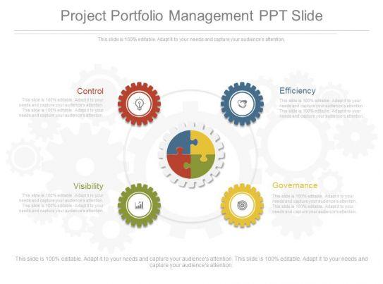project portfolio management ppt slide templates powerpoint presentation slides template ppt. Black Bedroom Furniture Sets. Home Design Ideas