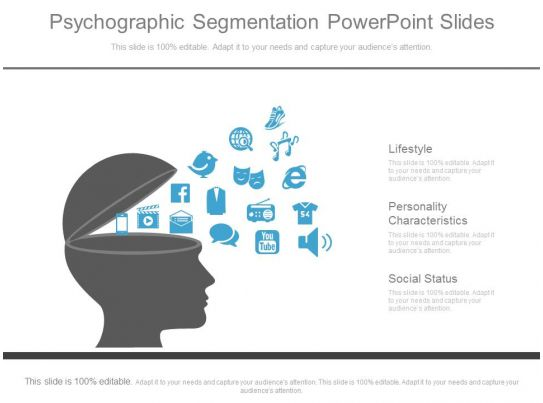 psychographic segmentation powerpoint slides