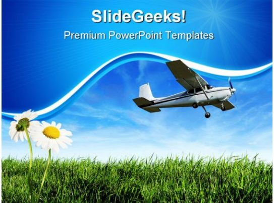 airplane travel powerpoint templates and powerpoint