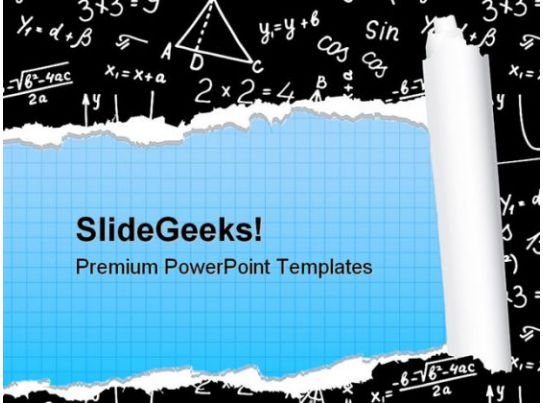 Algebra education powerpoint backgrounds and templates for Math powerpoint templates free download