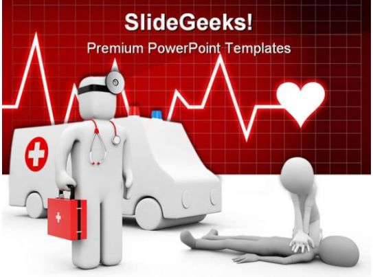 Ambulance Medical Powerpoint Templates And Powerpoint
