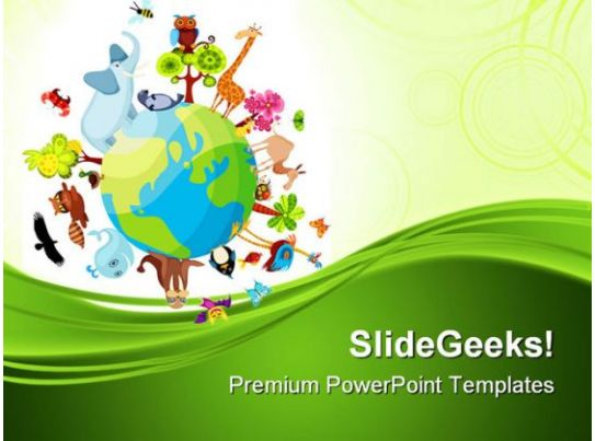 animal planet geographical powerpoint templates and