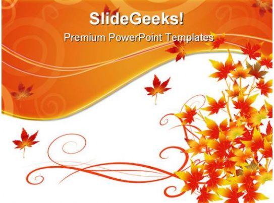 autumn season nature powerpoint templates and powerpoint