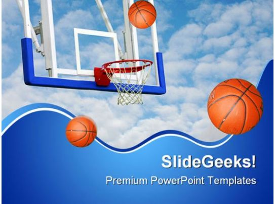 basketballs net sports powerpoint backgrounds and templates 1210 presentation graphics. Black Bedroom Furniture Sets. Home Design Ideas